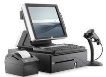 """""""برنامج"""" وأجهزة نظام ادارة ومحاسبة نقاط البيع متطور للمحلات التجارية, والمؤسسات"""