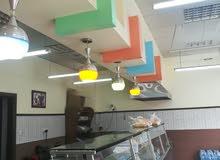مطعم سناكات للبيع بمعداته بسعر جيد بجانب جامعة البلقاء-البوليتيكنيك-اوتوستراد عمان الزرقاء