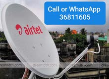 All types of Satellites, Dish Fixing, cctv fixing  Repairing, call 36811605