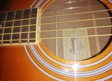 جيتار lbanez بملحقاته كاملة جديد