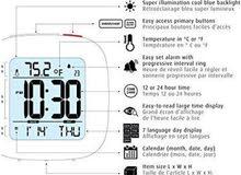 ساعة منبه رقمية متطورة ممتازة