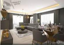 شقة  دور اول مفروشة  2 غرف صالة وحمام ومطبخ