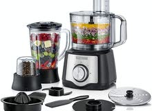 Black & Decker 600 W 29 Function Food Processor with Blender