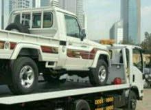 رافعه نقل وشحن المركبات والمعدات في حدود  صحار