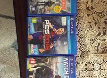 4  games for sale