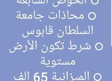 عاجل: مطلوب أرض للشراء الخوض السابعة  الخوض7 من المالك فقط بدون وسطاء