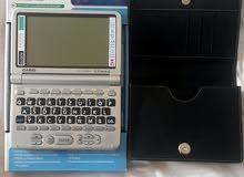 قاموس إلكتروني ألماني/إنجليزي/فرنسي مع صوت وشنطه جلد - Electronic Dictionary German/English/French
