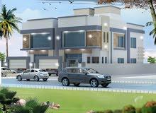 Maabila Janoubia neighborhood Seeb city - 318 sqm house for sale