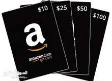 مفاجئة وفرصة واسعار حرق لمدة محدودة كروت امازون Amazon cred