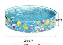 مسبح اطفال  كبير يسع 4 او 5 اطفال