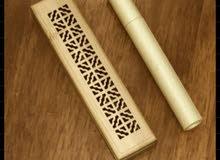 المبخرة الخشبية الذكية مع اعواد الكمبودي