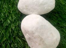 أحجار زينة للحدائق