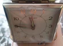 ساعة انتيكا مكتبية جميلة وانيقة من شركة سايكو اليابانية
