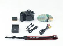 كاميرا canon 6d للبيع