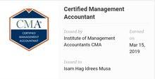 سوداني حاصل على CMA و MBA