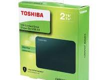 هادرسك خارجي Toshiba 2TB