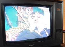 تلفزيون توشيبا ملون ومخشب  ، نظيف وشغال 100%