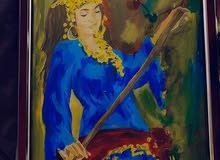 painting/لوحه هاند ميد
