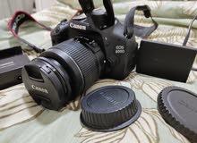 كاميرا كانون دي 600 مع عدستين
