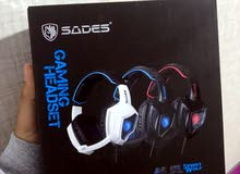 سماعات gaming Sades جديدة