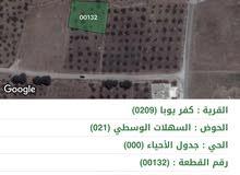 قطع اراضي مميزه للبيع وبمساحات مختلفه