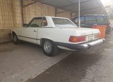 للبيع مرسيدس 450 SL  موديل 1977  حاله ممتازة  السعر 3.500 د.ك