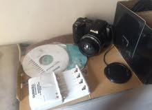 كاميرا نيكون بكامل اغراضها بحالة الجديده استعمال خفيف
