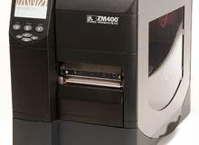 ماكينة طباعة استيكرات zebra 400