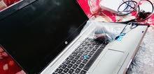 لابتوب hp elitebook اخو الجديد كور i5 كارد شاشه خارجي (يشغل ببجي)