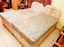 2 used Beds available each with spring mattress