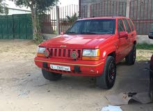 Used condition Jeep Grand Cherokee 1995 with +200,000 km mileage