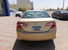 For sale 2012 Beige Camry