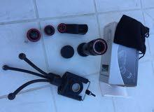 عدسات تعمل على جميع الهواتف lenses zoomx8 & 3lenses