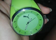 ساعة puma اصلية غير مستخدمة و بحالة جيدة جدا للبيع... سعر مغري لهذه الساعة الفخم