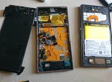 قطع غيار سوني اكسبيريا زد 1 وزد 2 جهاز نوكيا اكس ال شاشه فقط