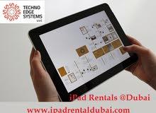 Apple iPad Rental Dubai from Techno Edge Systems,LLC