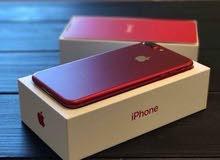 ايفون 7 بلس جديد. لم يستخدم هاتف مغلف بحاله الوكاله