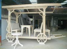 جلسة خشبية