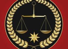 كافة انواع القضايا الجزائيه والحقوقية والشركات/ محامون متخصصون