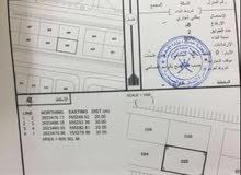 للبيع : 3 اراضي سكني تجاري في ولاية المصنعه للبناء المباشر
