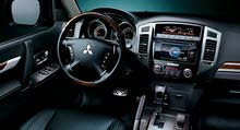 Mitsubishi Pajero car is available for a Day rent