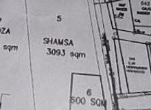 ارض زراعيه قابل للتحويل الى سكني 3093 متر مربع