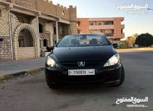 Manual Black Peugeot 2007 for sale