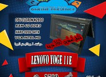 CLERON N2930 كاش 2 ميجا LENOVO YOGA 11E رمات 4 جيجا DDR3 // هارد 320
