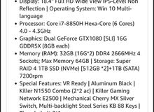 Used Laptop for sale of brand MSI