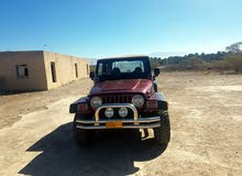 Jeep Wrangler 2002 For sale - Maroon color