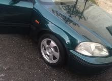 Honda Civic 1997 For sale - Green color