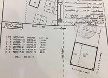 ارض 900م للايجار - بوشر فلج الشام