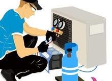 إصلاح وتركيب المكيفات وثلاجات وكهرباء المنزل ضمان على الاعمال