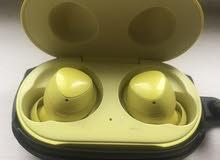 سماعات Galaxy Buds مع الحافظة لون اصفر